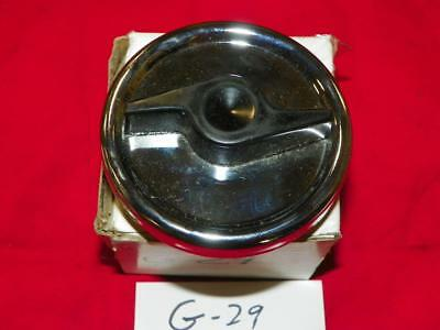 Dart Valiant 1967-1970 NOS Stant Chrome Plated Fuel Gas Cap G-29 Made in USA
