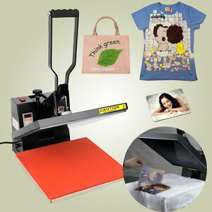 38 x 38cm high pressure heat press machine sublimation t for Heat press decals for t shirts