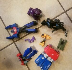 Lot of Transformers Parts and Pieces