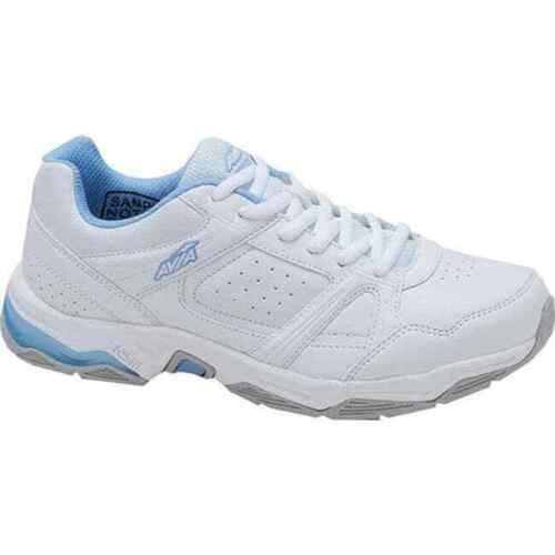 AVIA Women/'s AVI-Rival Athletic Cross Training Shoes Sneakers White//Powder Blue