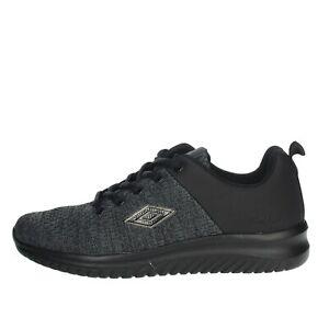 Umbro-Uomo-RFR38068S-NERO-GRIGIO-Sneakers-Autunno-Inverno-Nylon