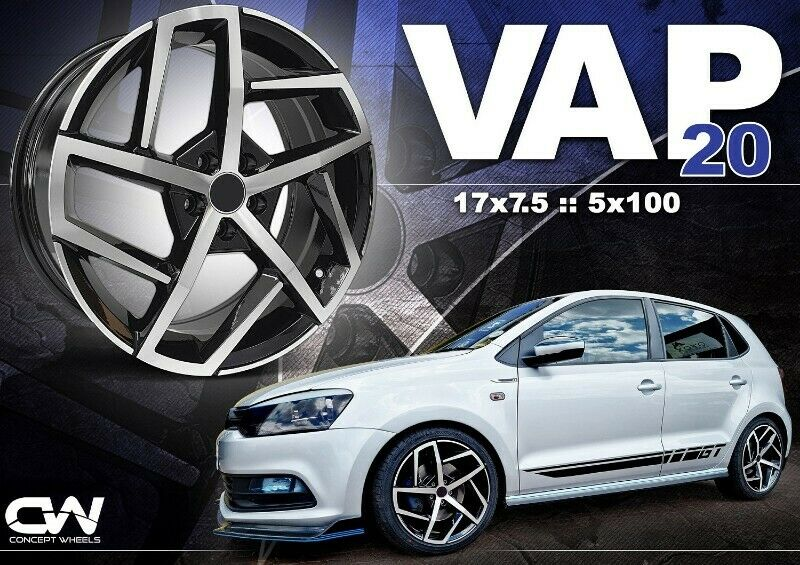 CONCEPT WHEELS NEW RIMS NOW IN STOCK FOR VW AND AUDI