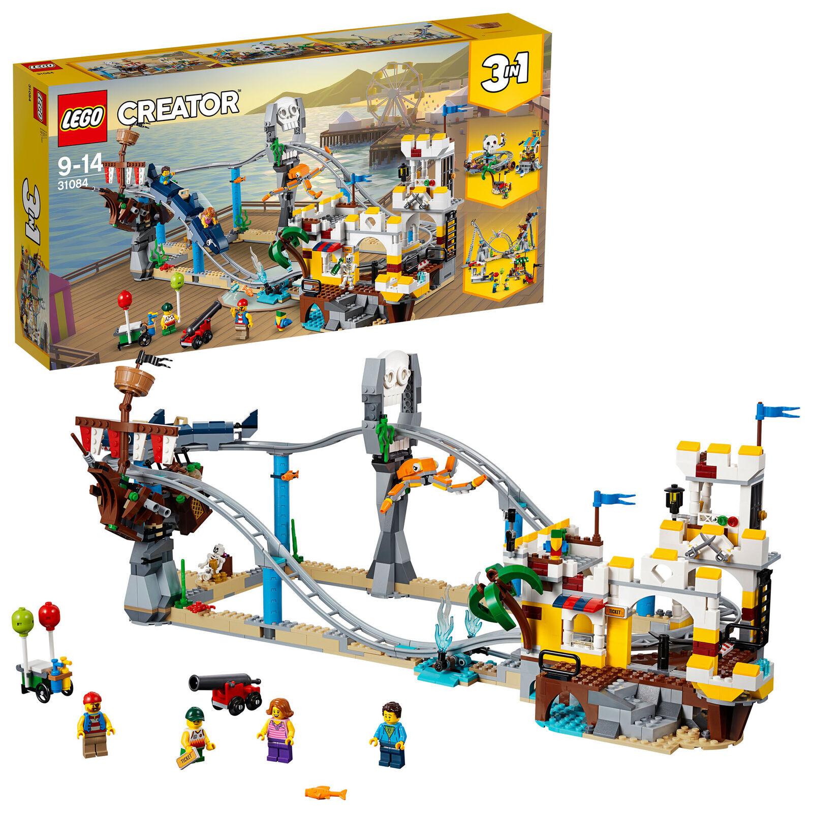 31084  LEGO Creator Pirate Roller Coaster 923 Pieces Age 9+  pas cher et de la mode