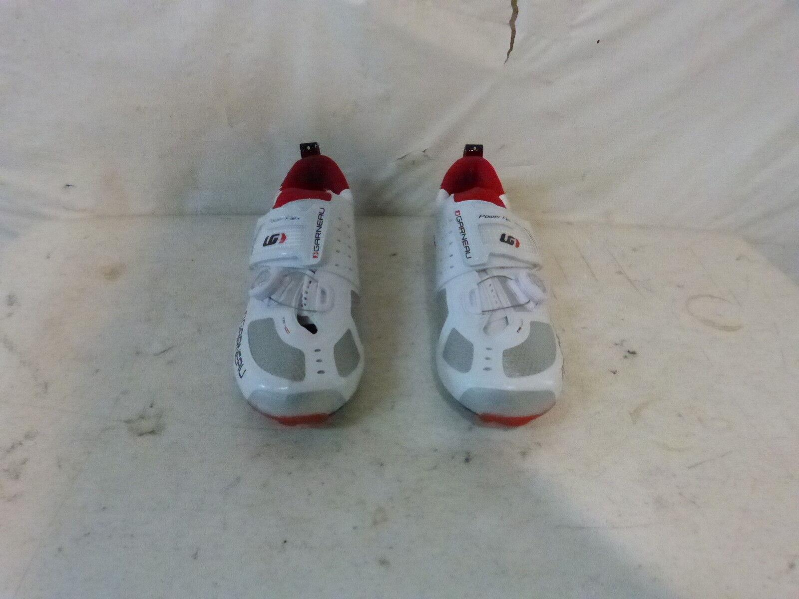 Louis Garneau Tri-400 shoes - Men's 38 US 5 White Retail