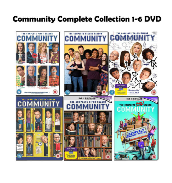 Community Seasons 1 To 6 Complete Collection Region 2 Dvd For Sale Online Ebay