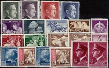 === DR Drittes Reich  Jahrgang 1942 ** komplett, Kat. ca. 120€ ===