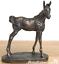 Bronze-Foal-ornament-by-David-Geenty-quality-horse-lover-gift-figurine-sculpture miniatuur 1