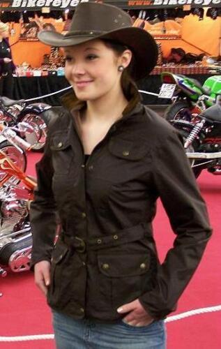 Frauen Wachs Wax Jacke Outdoor Style 36 38 40 42 REDUZIERT 89,99euro