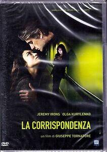Dvd-LA-CORRISPONDENZA-di-Giuseppe-Tornatore-nuovo-2016