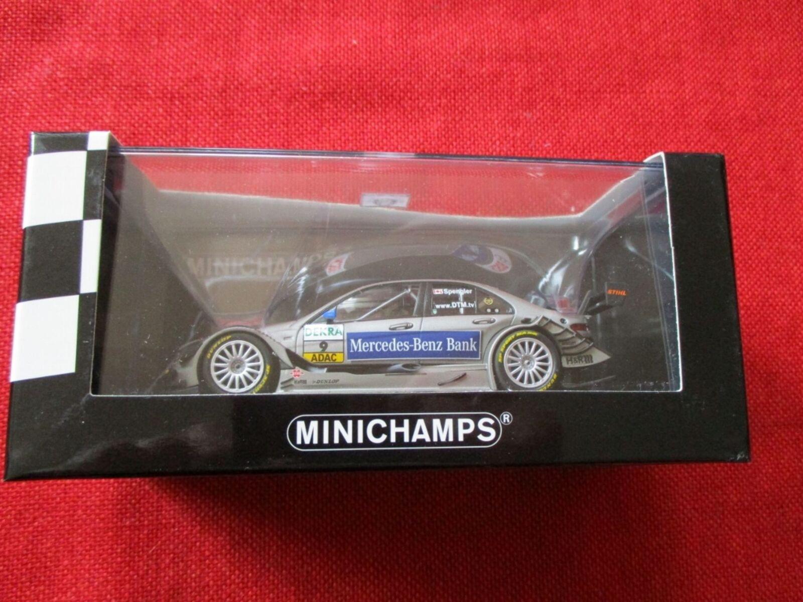 MINICHAMPS® 400 093909 1 43 Mercedes C-Class DTM 2009 Team AMG-Mercedes Spengler