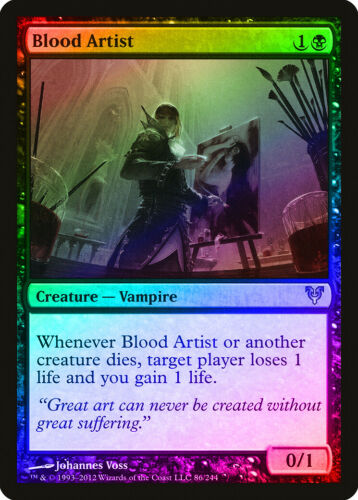 Blood Artist FOIL Avacyn Restored NM Black Uncommon MAGIC MTG CARD ABUGames