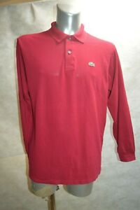 POLO-LACOSTE-CHEMISE-DEVANLEY-TAILLE-5-L-DRESS-SHIRT-CAMISA-CAMICIA-TBE