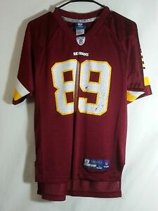 New Santana Moss Washington Redskins NFL Football Jersey Reebok Size  for cheap