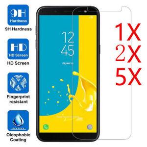 2X Pack para Samsung Galaxy J6 2018-templado vidrio Protector de Pantalla Antirreflejo