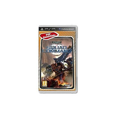 * Sony PSP ESSENTIAL NEW Game * WARHAMMER 40 000 SQUAD COMMAND *