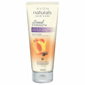 AVON-Naturals-Golden-Apricot-amp-Shea-strand-strength-leave-in-treatment-New