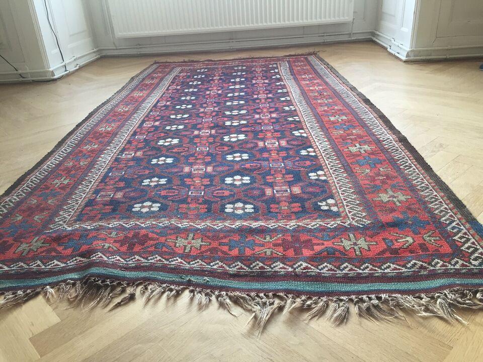 Ægte orientalsk håndknyttet tæppe, købt i 1968