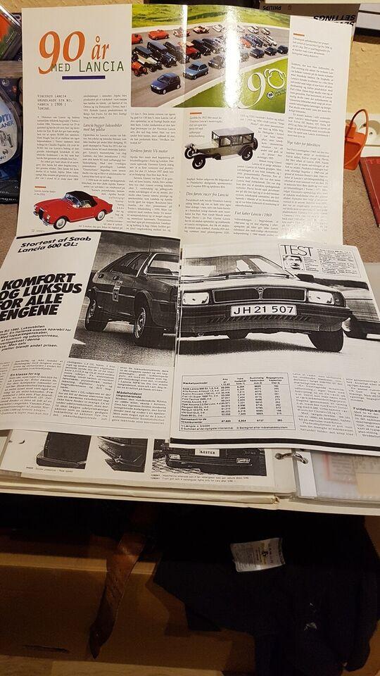 Instruktionsbog, Saab Lancia 600