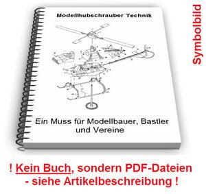 Das Bild Wird Geladen Modellhubschrauber Selbst Bauen Modell  Hubschrauber Technik Patente