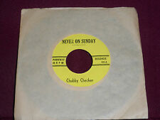 """CHUBBY CHECKER """"Never On Sunday"""" Parkway 003"""