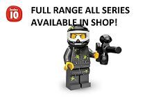 Lego minifigures paintball player series 10 (71001) unopened new factory sealed
