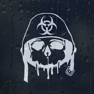 Army-Zombie-Outbreak-Response-Skull-In-Military-Helmet-Car-Decal-Vinyl-Sticker