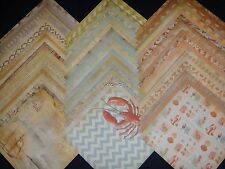 12x12 Scrapbook Paper Studio Beach House Vacation Stack Lobster 60 Hamptons Lot