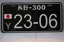 JAPANESE STYLE CUSTOM JDM LICENSE PLATE  TRD