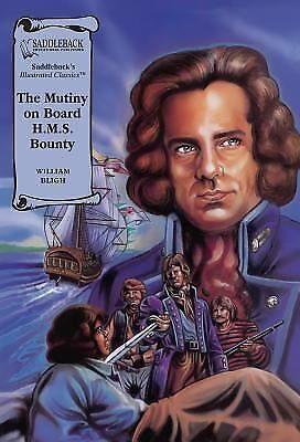 The Mutiny on board HMS Bounty (Illustrated Classics)-ExLibrary