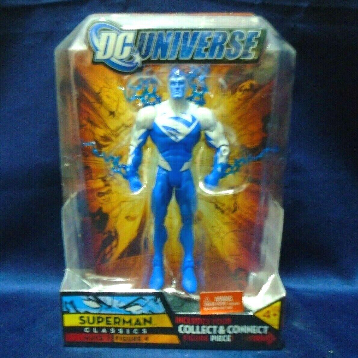 DC Universe classeics Superuomo blu Wave 2 cifra 4