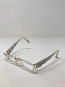 a8d3f9620c Ray Ban Eyeglass Frames RB4871-2097 White 52-16-135 Full Rim RB37