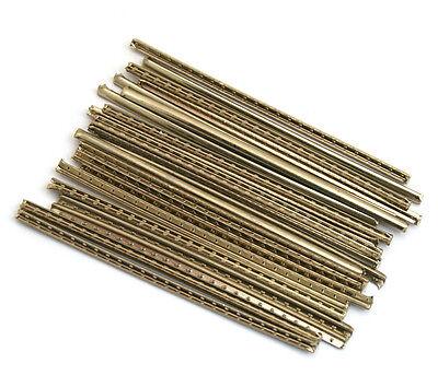 Dunlop 6S6100 Jumbo Accu-Fret 6100 18/% Nickel Silver Fretwire 24 pcs