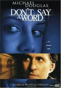 Brand-New-DVD-Don-039-t-Say-a-Word-Michael-Douglas-Sean-Bean-Famke-Janssen-Oliver