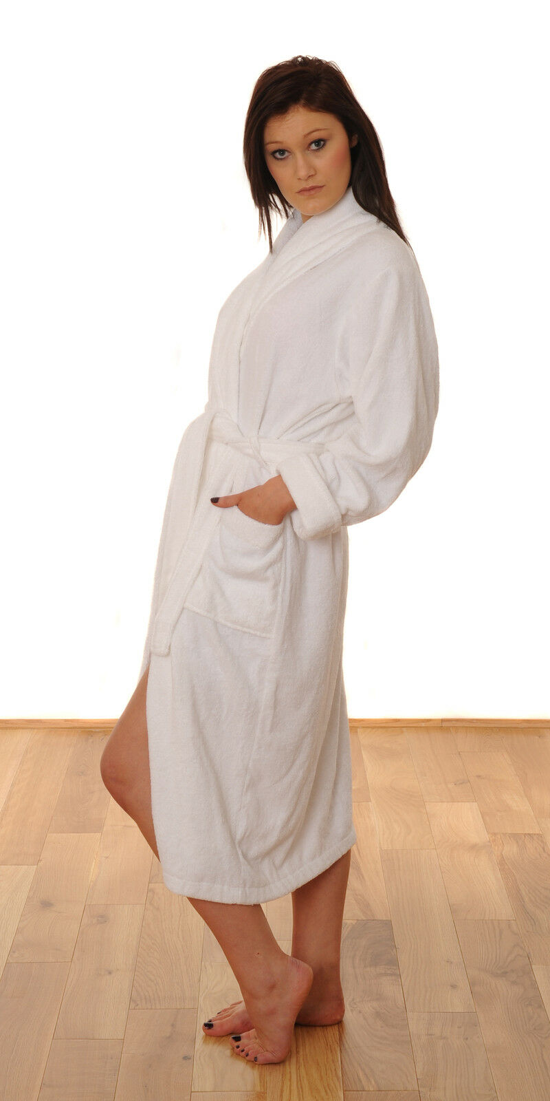 Eco Friendly Organic 100% 100% 100% Bamboo Pile Super Soft Unisex Bathrobe ee9bf0