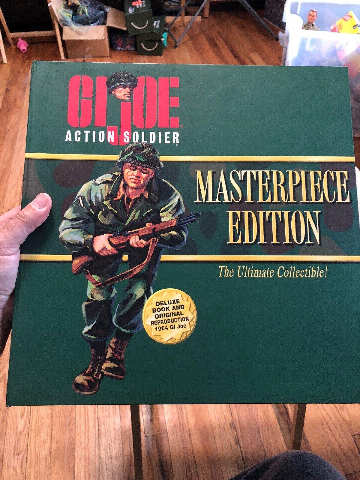 Gi Joe Action Soldier Masterpiece Edition Blonde Hair
