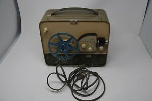 Vintage Kodak Brownie 300 Movie Projector With Instructions 8MM Needs Bulb