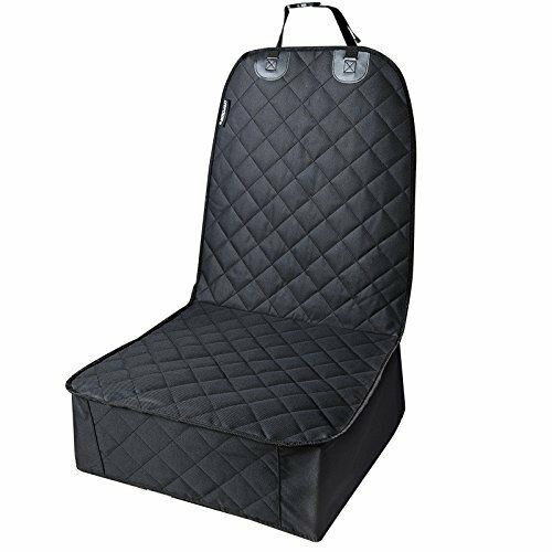 Pet Front Seat Cover For Cars,WaterProof /& Nonslip Rubber Backing With Anchors,