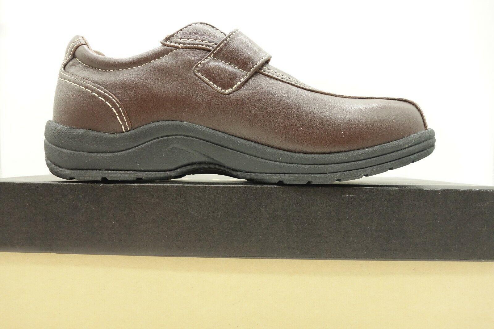 Garanzia di vestibilità al 100% PW PW PW Minor Marrone Leather Casual Comfort Buckle Slip On Loafer scarpe donna 7.5 W  fino al 60% di sconto