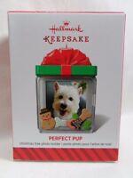 2014 Hallmark Keepsake Ornament Perfect Pup Photo Holder Loc B45