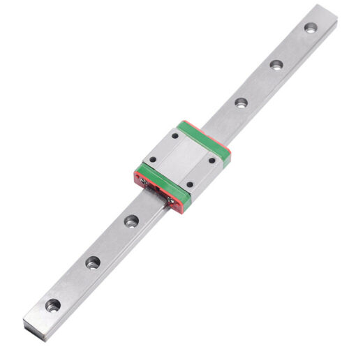 linear rail guide MGN15 length 500mm with minature Motion MGN15H CNC part