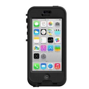 OEM-LifeProof-Nuud-Waterproof-Case-for-Apple-iPhone-5C-Black-Clear