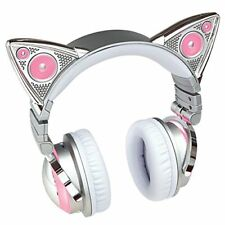 LED 8color Axent Wear Limited Edition Ariana Grande Bluetooth Cat Ear Headphones
