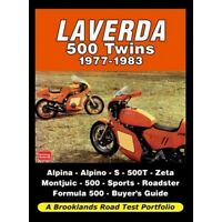 Laverda 500 Twins 1977-1983 Road Test Portfolio book paper
