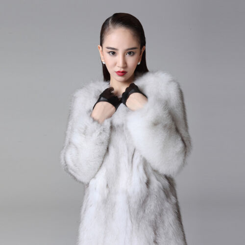 Coat Outwear Fox Women Jacket Warm For New 15115 Fur Real Winter Thick wqfTBcAg
