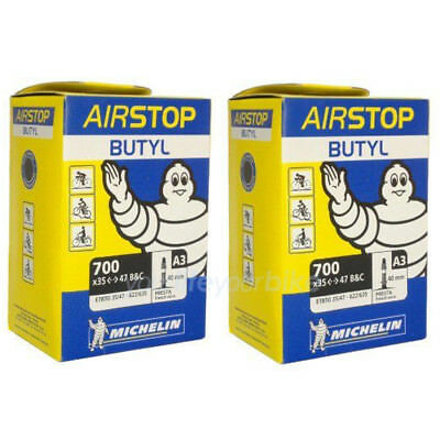 """Michelin Airstop a3 28/"""" de vélo 1.35/"""" 1.85/"""" Trekking Touring Sclaverand"""