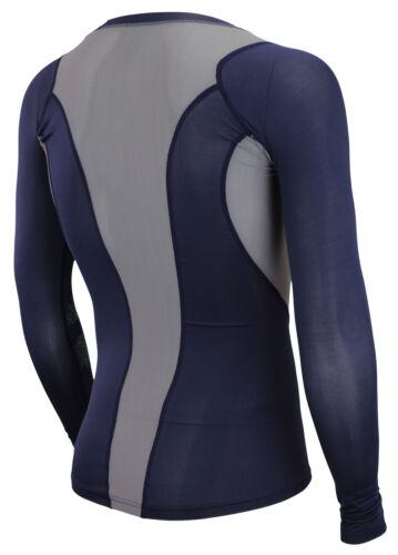 Reebok Men/'s Long Sleeve Compression Shirt Color Options