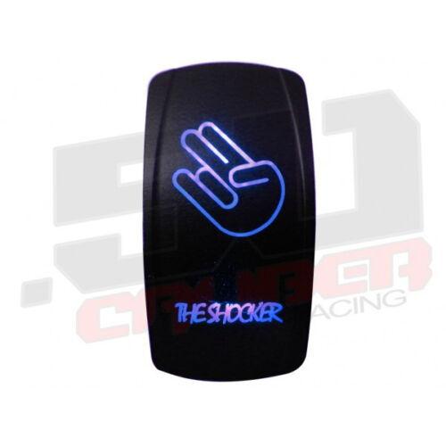 Custom Rocker Switch On//Off The Shocker RZR Maverick X3 YXZ1000R Pioneer Blue