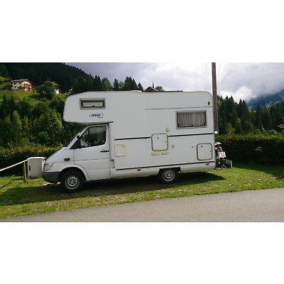 Wohnmobil der Fa. Hehn auf Merc.; Bj 2004; 166000 km; Erstbesitz;