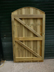 Merveilleux Image Is Loading Convex Closeboard Featheredge Framed Garden Gate 6ft High