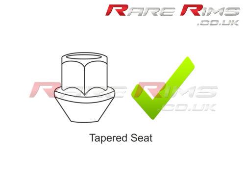 20 x Tuercas hexagonales de rueda Cromo M12x1.5 se adapta a Ford Focus RS St Zetec MK1 MK2 MK3